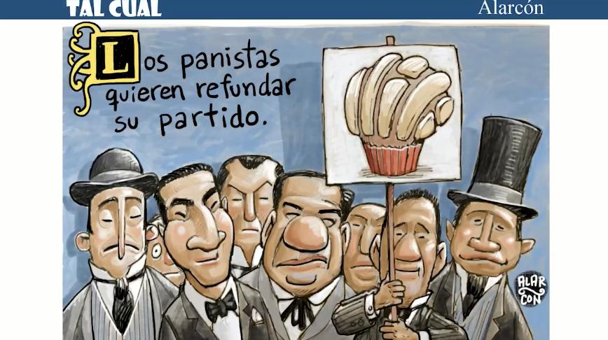 Tal Cual: Los panistas quieren refundar su partido
