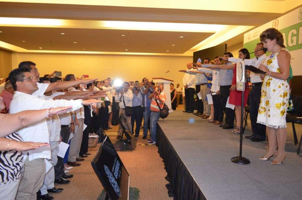 Rinden protesta integrantes de comisión para combatir la trata en Guerrero