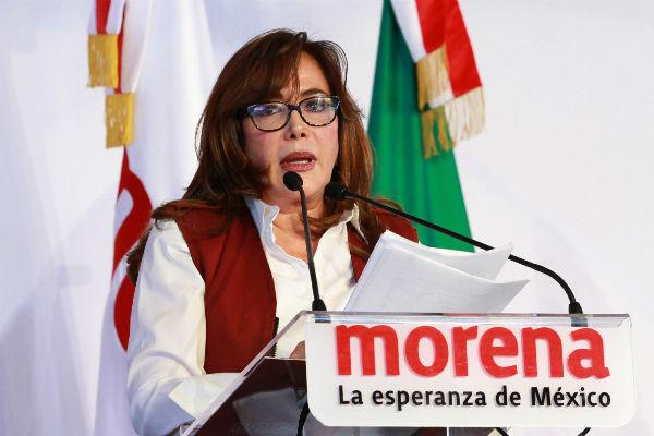 La dirigente destacó que ganaron cinco nuevas gubernaturas. FOTO: NOTIMEX
