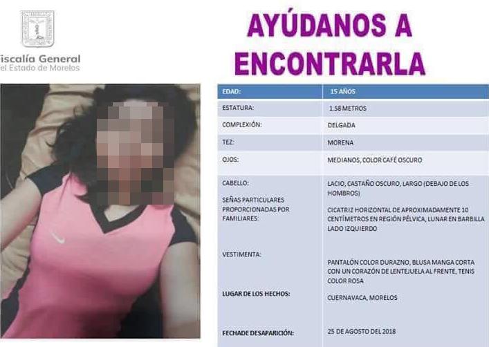 Localizan cuerpo de menor de edad envuelto en Cuernavaca.