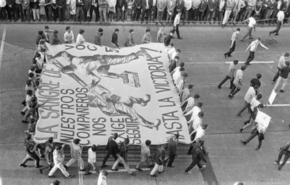 Foto: ARCHIVO HISTÓRICO DEL 68-UNAM