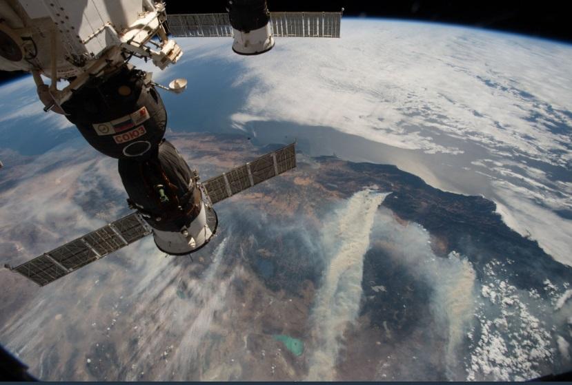 Este martes 14 de agosto será el segundo y será en punto de las 20.:40 hrs. (Foto: @Space_Station)