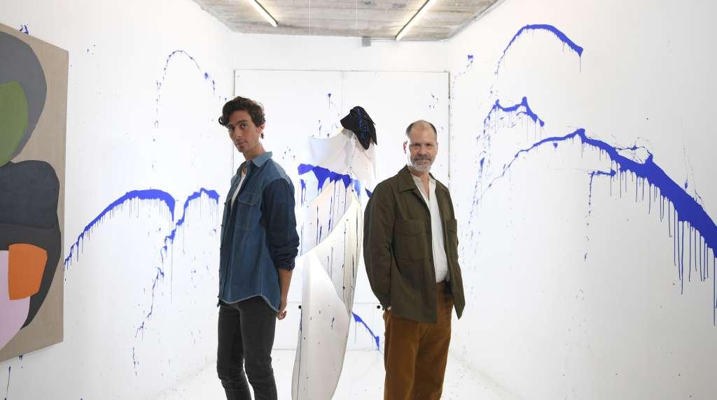 Las piezas de Kris Goyri y Aldo Chaparro estarán en exhibición hasta el 7 de septiembre en el estudio de Aldo Chaparro (Foto: Bernardo Coronel )