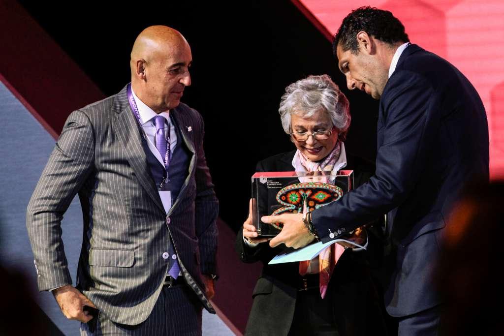 La próxima titular de la Segob, Olga Sánchez, lanzó la propuesta en el foro Banorte. FOTO: CUARTOSCURO