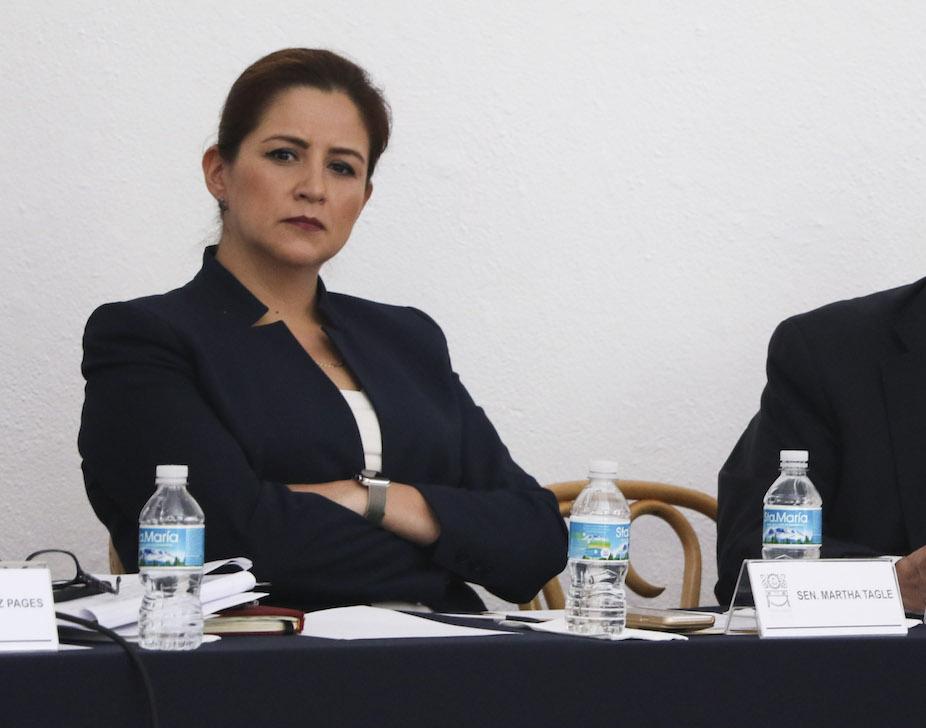 Martha Tagle, senadora independiente. Archivo FOTO: SAÚL LÓPEZ /CUARTOSCURO.COM