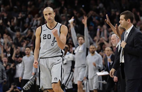 Su retiro marca el final definitivo de una era para los Spurs. FOTO: AP