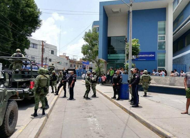 Soldados tuvieron varios enfrentamientos con civiles armados hasta con armas calibre 50. FOTO: ESPECIAL