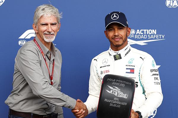 Hamilton sacó su potencial de concentración y venció a Sebastian Vettel. FOTO: REUTERS