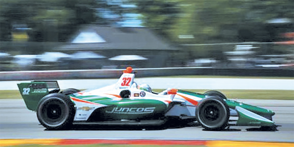El mexicano fue piloto de pruebas de Force India en 2016 y 2017 en F1 (Foto: Especial)
