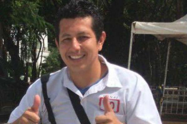 El miércoles por la tarde fue asesinado en Cancún Javier Rodríguez Valladares, camarógrafo de Canal 10. FOTO: ESPECIAL