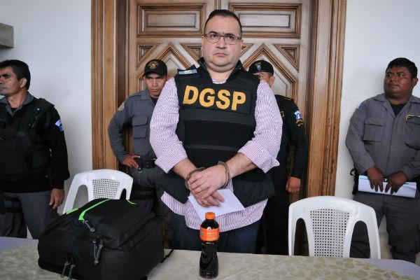 Javier Duarte fue sentenciado a nueve años de prisión el pasado 26 de septiembre. FOTO: ARCHIVO / CUARTOSCURO
