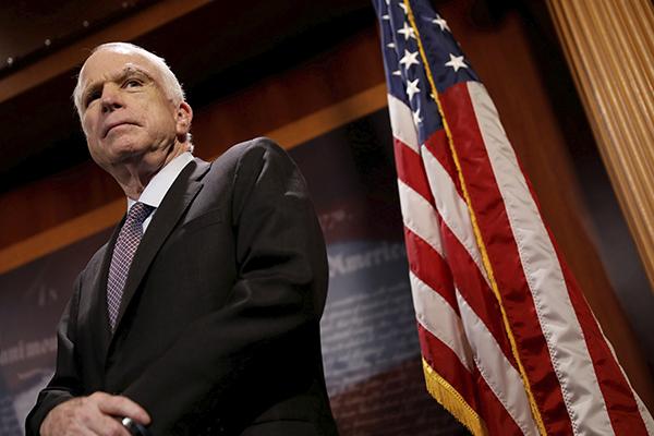 El senador republicano de 81 años, recibía tratamiento desde julio de 2017. FOTO: REUTERS