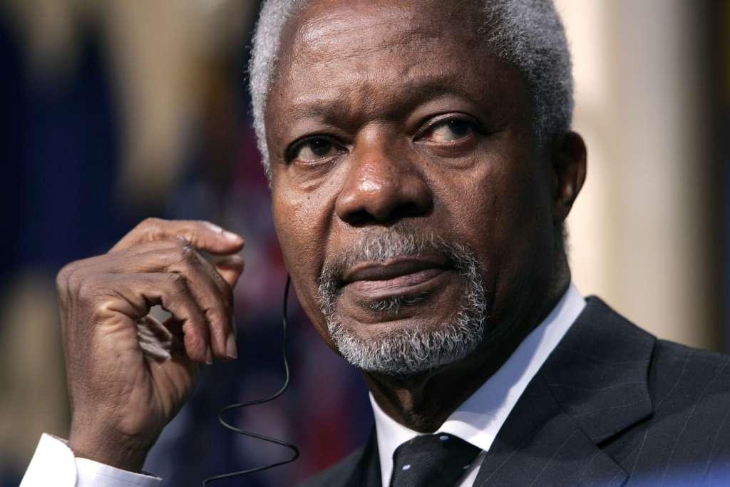 En 1997 se convirtió en secretario de la ONU, el primero originario de África y en proceder de la organización. (Foto: EFE)