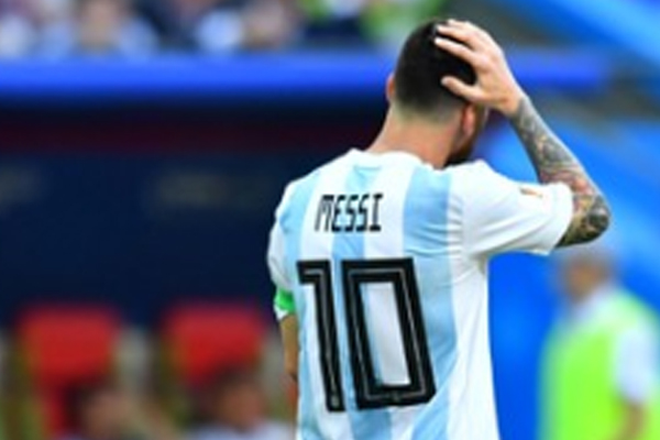 El jugador del Barcelona anunció que se retira temporalmente de la Selección Argentina. FOTO: REUTERS