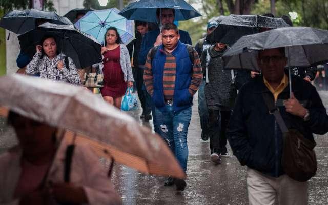 Alerta amarilla por lluvias al sur de la CDMX. FOTO: DIEGO SIMÓN SÁNCHEZ /CUARTOSCURO.COM