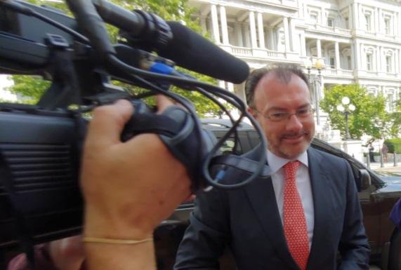 Videgaray precisó que el anuncio de este miércoles no significa una nueva coordinación o un nuevo mecanismo de cooperación (Foto: @SRE_mx)
