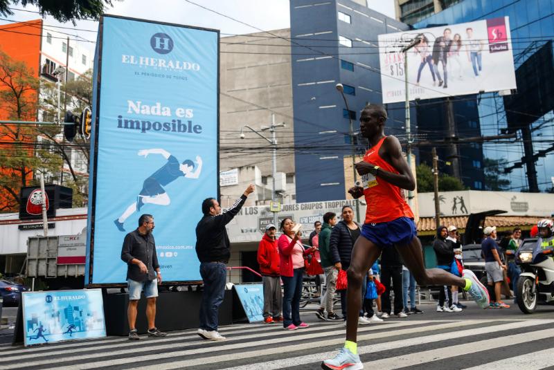 África dominó la edición 36 del Maratón CDMX
