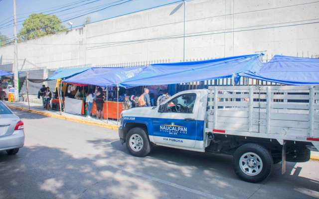 Hasta el momento las autoridades de Naucalpan no han dado respuesta sobre la reinstalación de los puestos