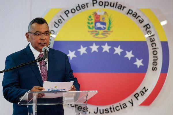 El ministro de Interior, Néstor Reverol señaló que las investigaciones
