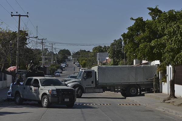 El operativo se dio para asegurar un vehículo que había sido reportado como robo. FOTO: ARCHIVO/CUARTOSCURO