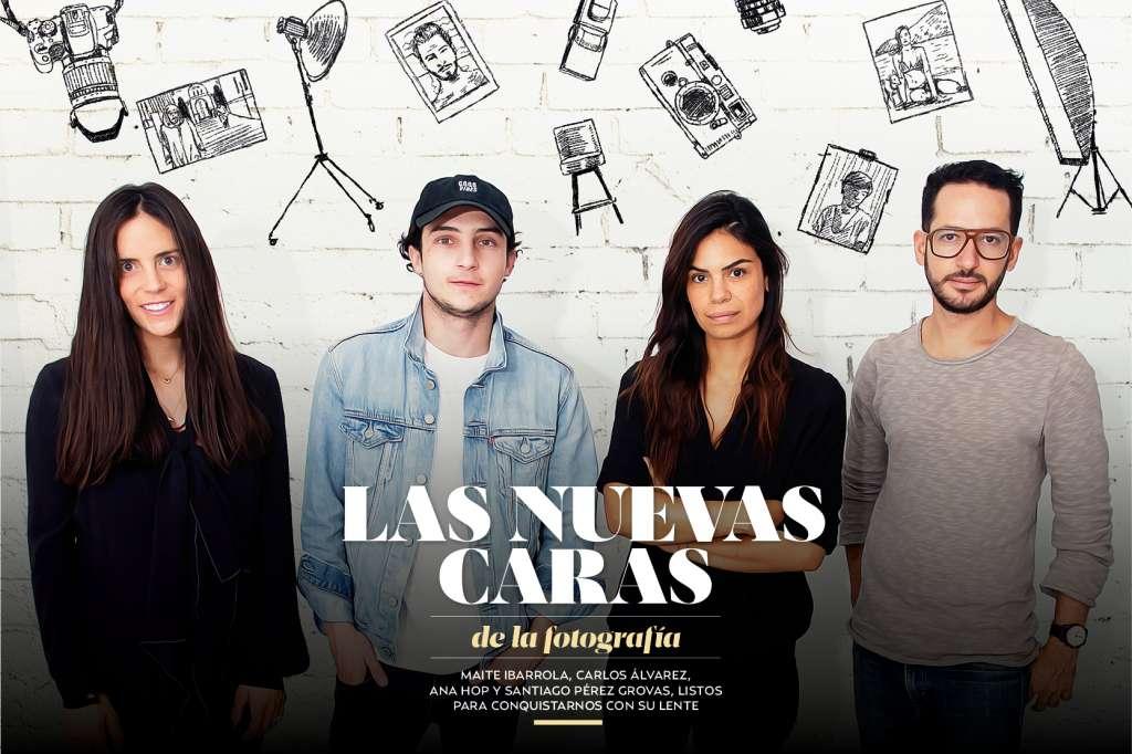 Maite Ibarrola, Carlos Álvarez, Ana Hop Santiago Pérez Grovas, listos para conquistar con su lente (Foto: Yazmín Rivera)