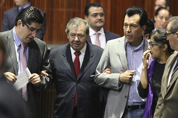 La Mesa de Decanos estará presidida por Pablo Gómez Álvarez de Morena. FOTO: CUARTOSCURO