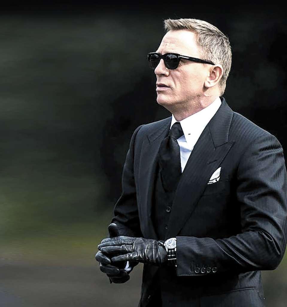 Daniel Craig es la imagen de los relojes Omega. Foto: Cortesía