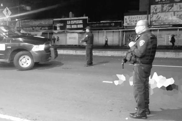 Primeros reportes indican que el responsable fue detenido. FOTO: @alejandrotv40