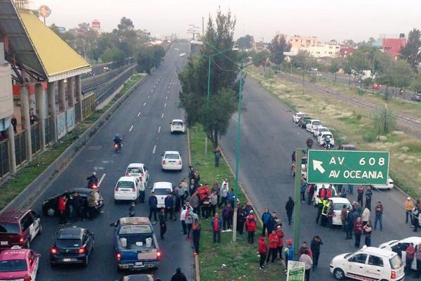Las alternativas viales son  Periférico y Loreto Fabela. FOTO: @OVIALCDMX