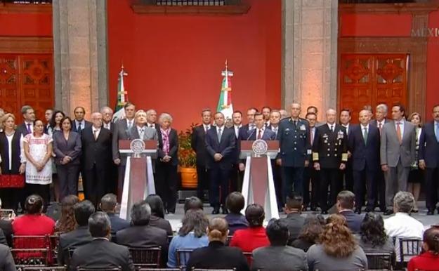 EN VIVO: He recibido apoyo sin condición de Peña Nieto, afirma López Obrador
