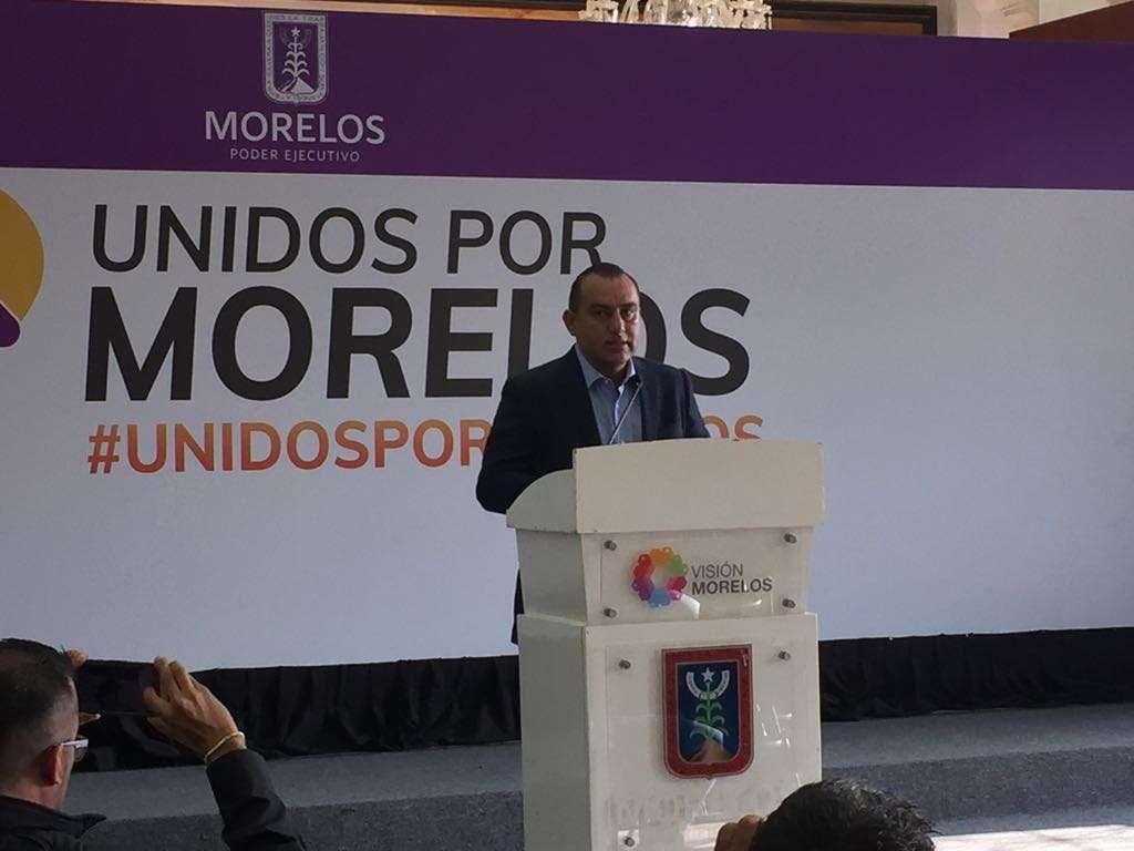El secretario de Gobierno de Morelos, Ángel Colín López pidió al gobernador electo designar a su gabinete para darle orden y certeza al proceso de transición. Foto: Guadalupe Flores.