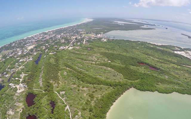 La empresa consultora Stantec entregó el primer borrador del estudio de factibilidad de desarrollo turístico en isla grande y Chiquilá Foto: Especial