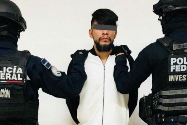 La detención fue en la colonia Vallejo, en la delegación Gustavo A. Madero, después el señalado fue presentado ante las autoridades ministeriales. FOTO: ESPECIAL