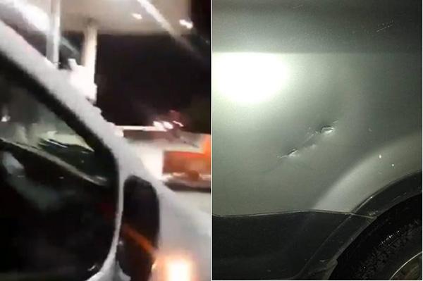 Automovilistas se quejaron en redes sociales de recibir ataques en una carretera poblana. FOTO: ESPECIAL