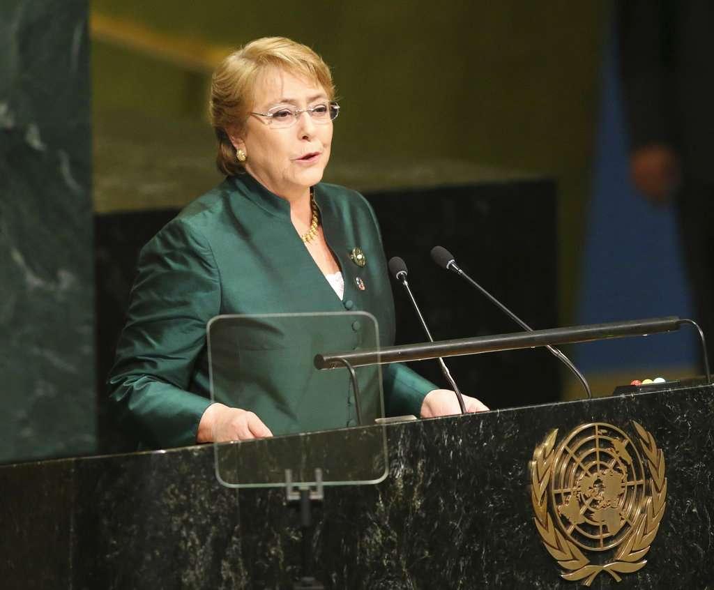 La SRE felicitó a la ex mandataria de Chile. FOTO: AP