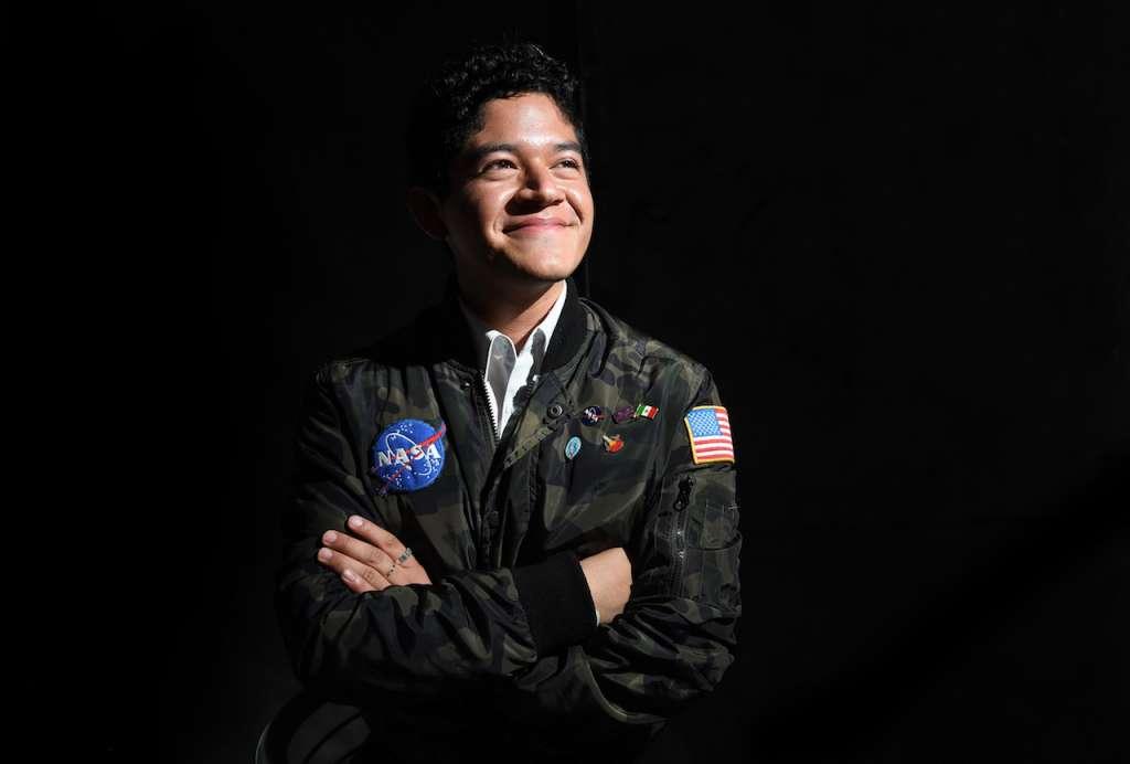 Jonathan Cristhan Sánchez Pérez fue seleccionado para participar en el Air and Space International Program 2018, de la NASA. Foto: Bernardo Coronel Heraldo de México
