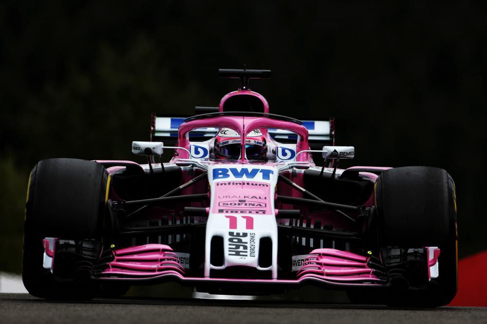 Checo buscará, el fin de semana, su cuarto top 10 en Bélgica, tratando de abrir la cuenta en la clasificación para el Racing Point Force India (Foto: Force India)