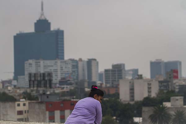 Tarde nublada en la Ciudad de México. FOTO:  CUARTOSCURO