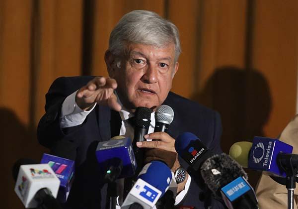 Andrés Manuel López Obrador, presidente electo de Mexico. FOTO: CUARTOSCURO