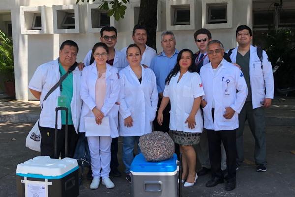 El procedimiento se concretó en el Hospital de Alta Especialidad de Veracruz. FOTO: ESPECIAL