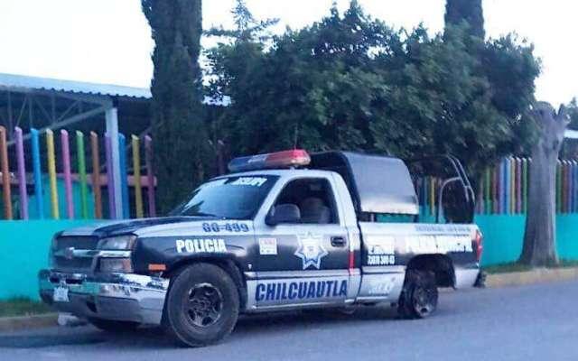 Este lunes se registró una riña durante un partido de fútbol en la unidad deportiva municipal de Chilcuautla. FOTO: ESPECIAL