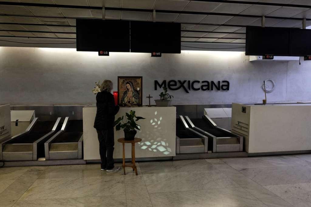 Mexicana de Aviación fue declarada en quiebra en abril de 2014.Foto: Nayeli Cruz / Heraldo de México