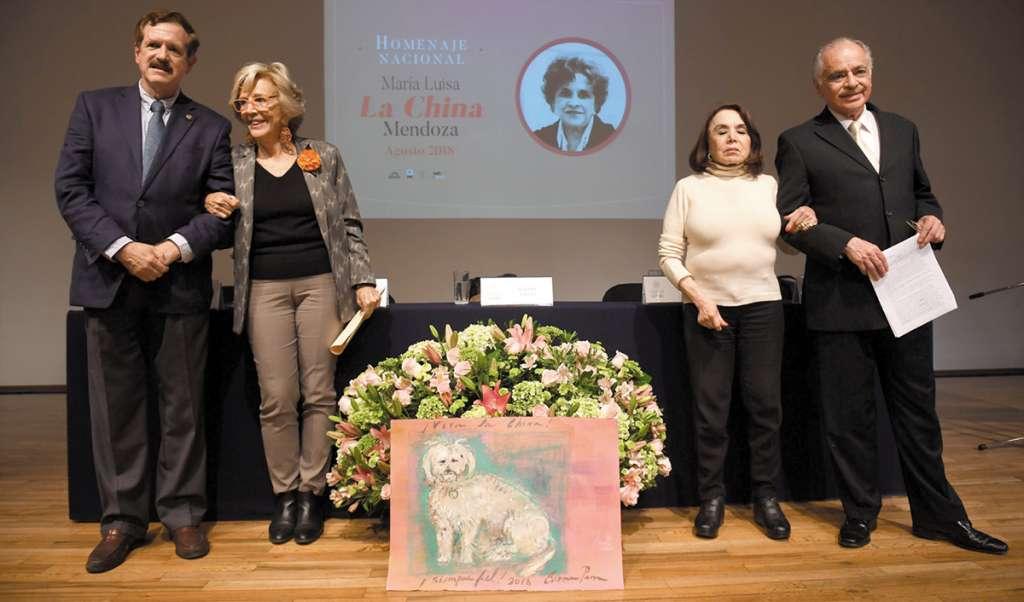 María Luisa es considerada como una de las grandes periodistas de México (Foto: PABLO SALAZAR SOLÍS)