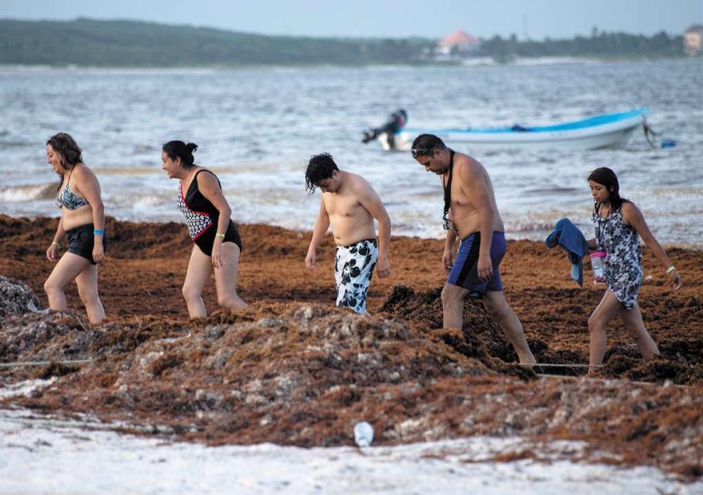 Autoridades afirman que no ha descendido el número de turistas. FOTO: ARCHIVO/ CUARTOSCURO
