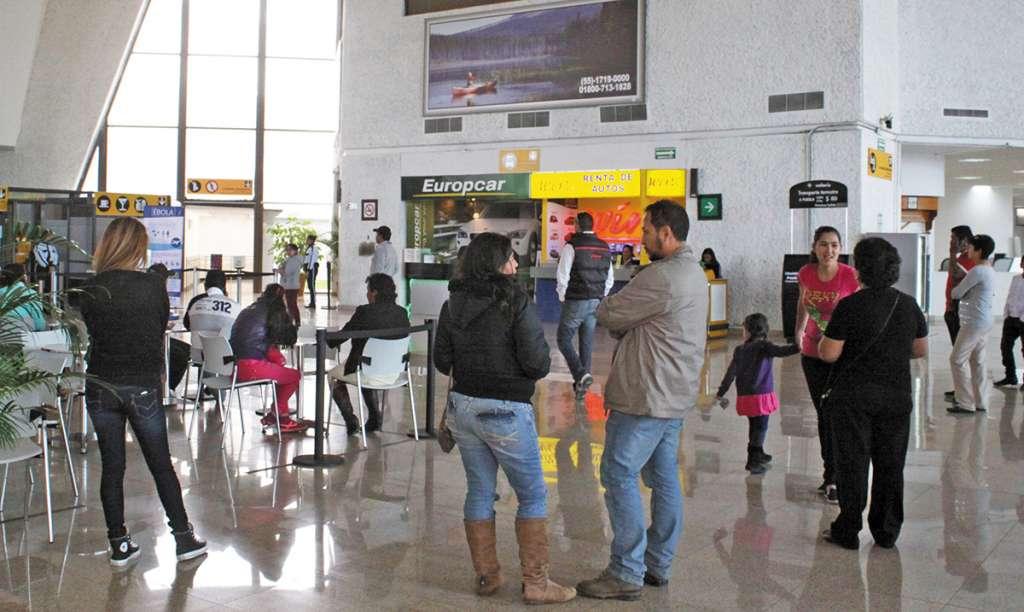 La terminal aérea viaja a 10 destinos nacionales e  internacionales. FOTO: ENFOQUE