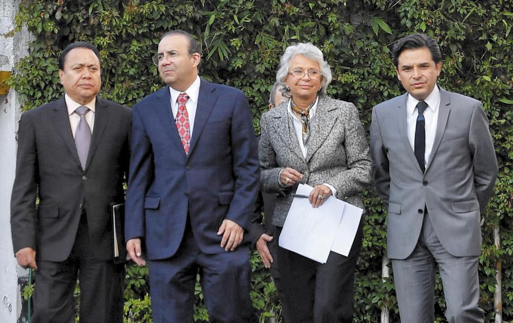 Los encargados de Gobernación dijeron que el trabajo es conjunto y puntual (Foto: EDGAR LÓPEZ)