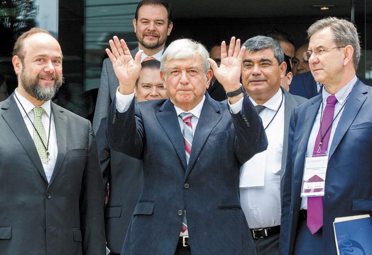 El Presidente electo prometió abrir el presupuesto para becas en las universidades FOTO: NOTIMEX