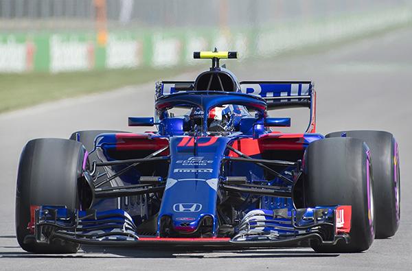 Gasly ya tomó contacto con la F1 el año pasado. FOTO: AP