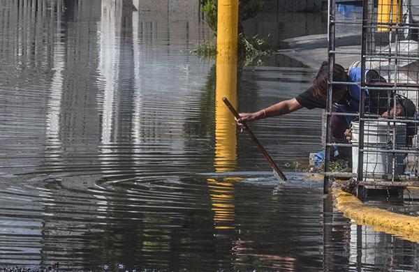 Por las lluvias se han registrado inundaciones en algunos estados del país. FOTO: CUARTOSCURO