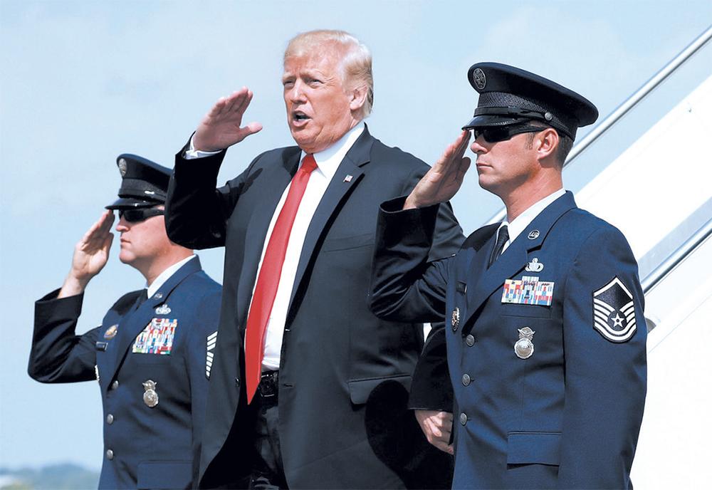 Trump viajó a Nueva York para una campaña de recaudación de fondos con sus partidarios (Foto: AP)
